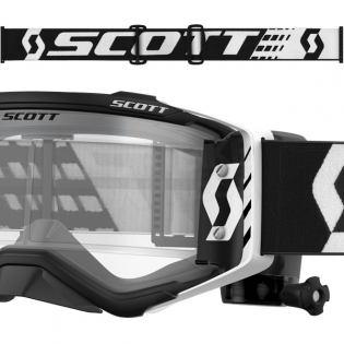 2018 Scott Prospect WFS Goggles - Black White Clear Image 3