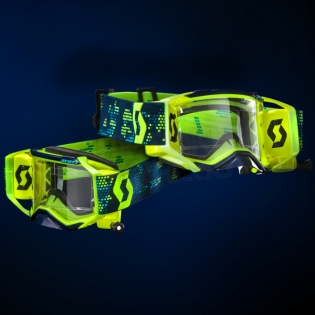 2018 Scott Prospect WFS Goggles - Yellow Black Clear Image 2
