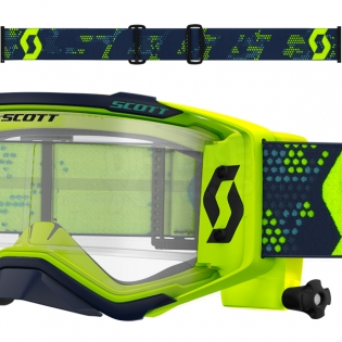 2018 Scott Prospect WFS Goggles - Yellow Black Clear Image 3