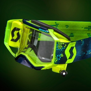 2018 Scott Prospect WFS Goggles - Yellow Black Clear Image 4