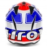 2018 Airoh TRR Trials Helmet - Wintage Red White Blue Gloss
