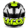 2018 Airoh TRR Trials Helmet - Wintage Black Yellow Gloss