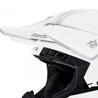 2018 Airoh Switch Helmet Colour Gloss White Image 2