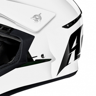 2018 Airoh Switch Helmet Colour Gloss White Image 3