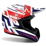 2018 Airoh Switch Helmet Startruck Red Gloss