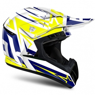 2018 Airoh Switch Helmet Startruck Yellow Gloss Image 3