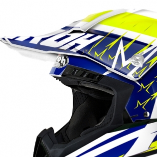 2018 Airoh Switch Helmet Startruck Yellow Gloss Image 4