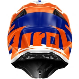 2018 Airoh Twist Helmet Mix Orange Image 2