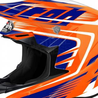 2018 Airoh Twist Helmet Mix Orange Image 3