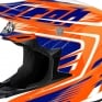 2018 Airoh Twist Helmet Mix Orange