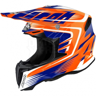 2018 Airoh Twist Helmet Mix Orange Image 4