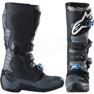 Alpinestars Tech 7 Boots - Ltd Troy Lee Designs Grey Black Image 2