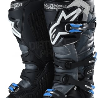 Alpinestars Tech 7 Boots - Ltd Troy Lee Designs Grey Black Image 3