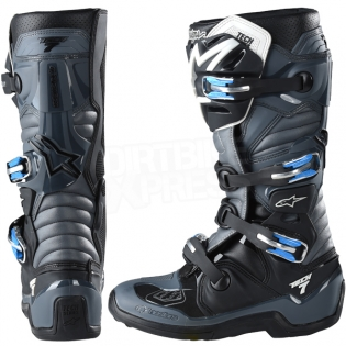 Alpinestars Tech 7 Boots - Ltd Troy Lee Designs Grey Black Image 4