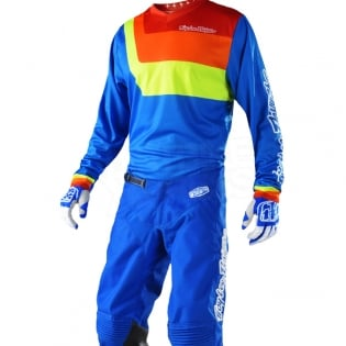 Troy Lee Designs GP Kit Combo - Prisma Blue Image 2