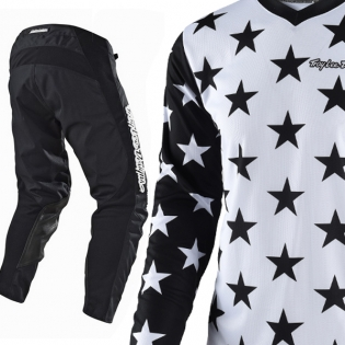 Troy Lee Designs GP Kit Combo - Star Mono Black Image 3