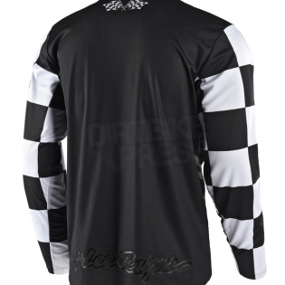 Troy Lee Designs GP Kit Combo - Checker Black Red Image 4