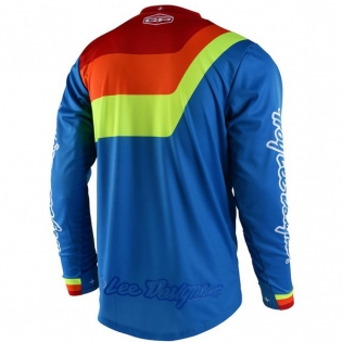 Troy Lee Designs GP Kit Combo - Prisma Blue Red Image 2