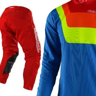 Troy Lee Designs GP Kit Combo - Prisma Blue Red Image 3