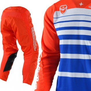 Troy Lee Designs GP Kit Combo - Streamline Mono Orange Image 3