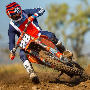 Troy Lee Designs SE Kit Combo - Squadra Navy Orange Image 3