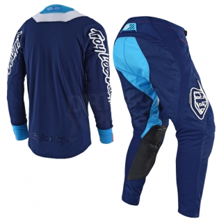Troy Lee Designs SE Kit Combo - Squadra Navy Orange Image 4
