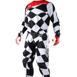Troy Lee Designs SE Kit Combo - Joker White Black Image 2