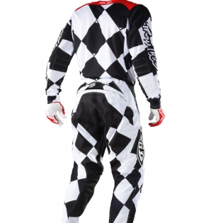 Troy Lee Designs SE Kit Combo - Joker White Black Image 4