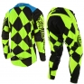 Troy Lee Designs SE Kit Combo - Joker Flo Yellow Black