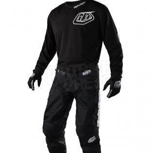 Troy Lee Designs Kids GP Kit Combo - Mono Black Image 2