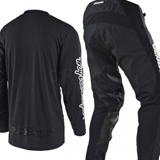 Troy Lee Designs Kids GP Kit Combo - Mono Black Image 3