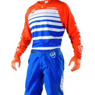 Troy Lee Designs SE Jersey - Streamline Blue Orange Image 2