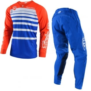 Troy Lee Designs SE Jersey - Streamline Blue Orange Image 3