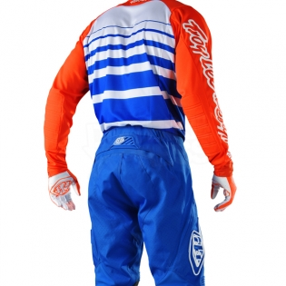 Troy Lee Designs SE Jersey - Streamline Blue Orange Image 4