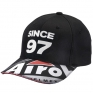 Airoh Cap - Black Red Whi