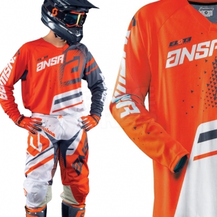 2018 Answer Elite Kit Combo - Orange Grey Image 2