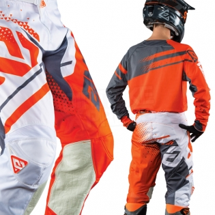 2018 Answer Elite Kit Combo - Orange Grey Image 4