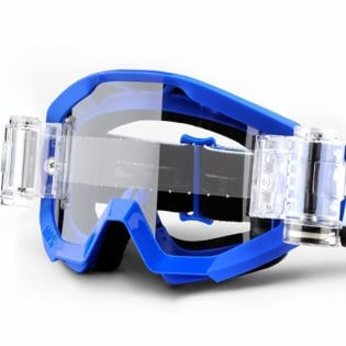100% Strata Mud Goggles - Nation SVS Clear Lens Image 4