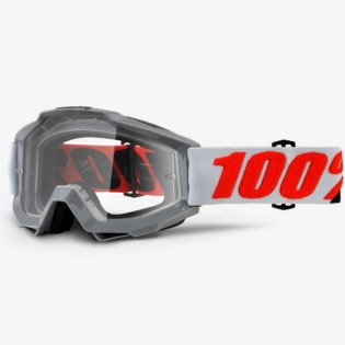 100% Accuri Goggles - Solberg Clear Lens Image 3