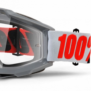100% Accuri Goggles - Solberg Clear Lens Image 4