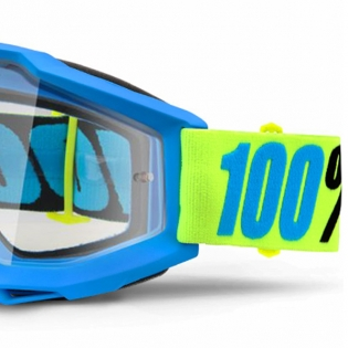 100% Accuri Goggles - Belize Clear Lens Image 2