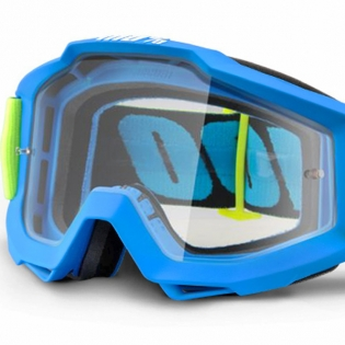 100% Accuri Goggles - Belize Clear Lens Image 4
