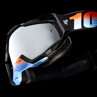 100% Racecraft Goggles - Starlight Mirror Lens Image 3