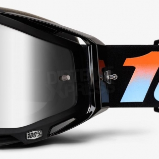 100% Racecraft Goggles - Starlight Mirror Lens Image 4