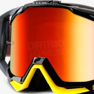100% Racecraft Goggles - Fortis Mirror Lens Image 2