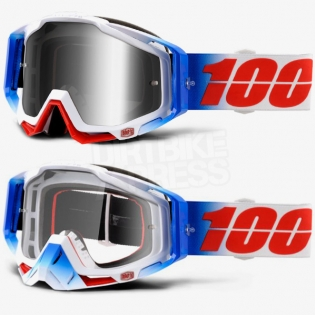 100% Racecraft Goggles - Fourth Mirror Lens Image 2