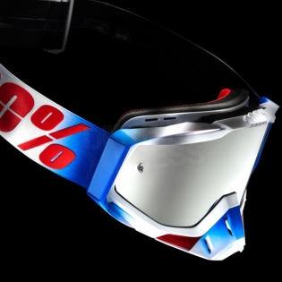 100% Racecraft Goggles - Fourth Mirror Lens Image 3