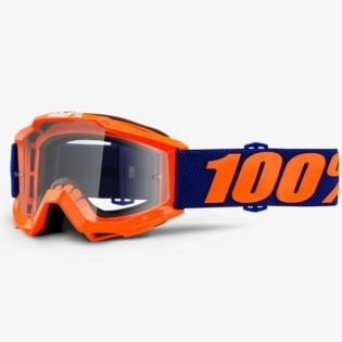 100% Accuri Kids Goggles - Origami JR Clear Lens Image 2