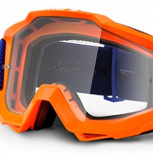100% Accuri Kids Goggles - Origami JR Clear Lens Image 4