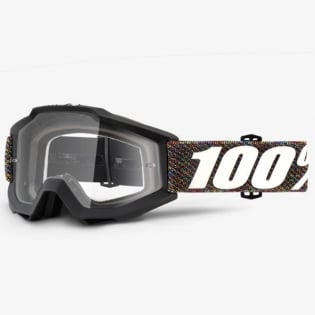 100% Accuri Kids Goggles - Krick JR Clear Lens Image 2